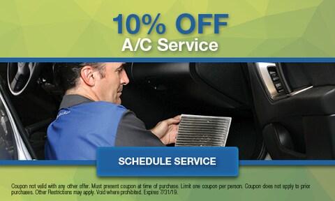 10% Off A/C Service