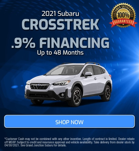April 2021 Crosstrek Special