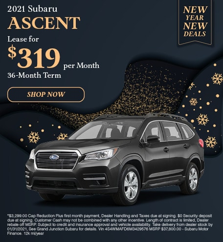 January 2021 Ascent Lease Special
