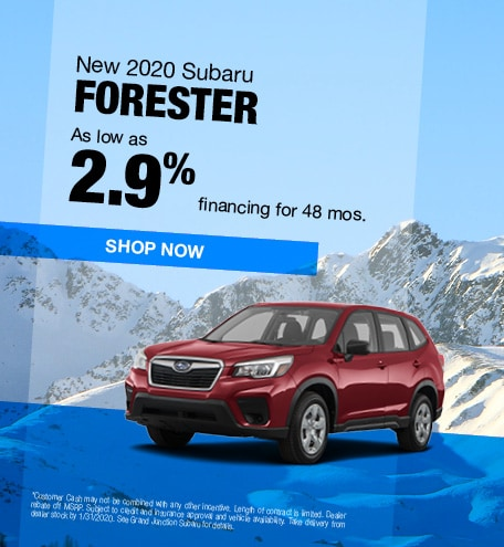 January | 2020 Forester APR