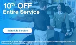 10% Off Entire Service