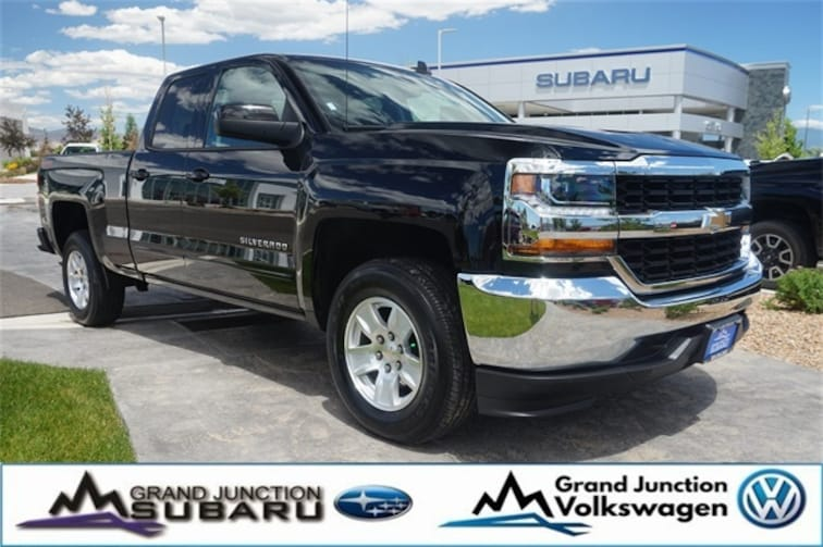 Used 2018 Chevrolet Silverado 1500 LT Truck Double Cab Grand Junction, CO