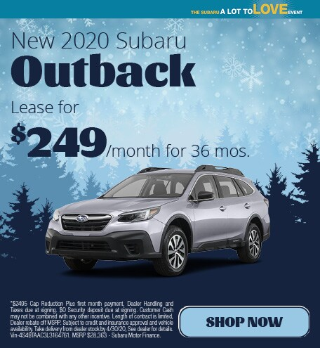 March | 2020 Outback Lease
