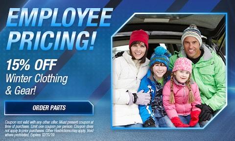 December   15% Off Winter Clothing & Gear