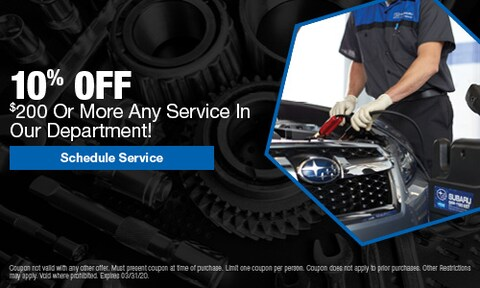 10% Off $200 Or More Any Service
