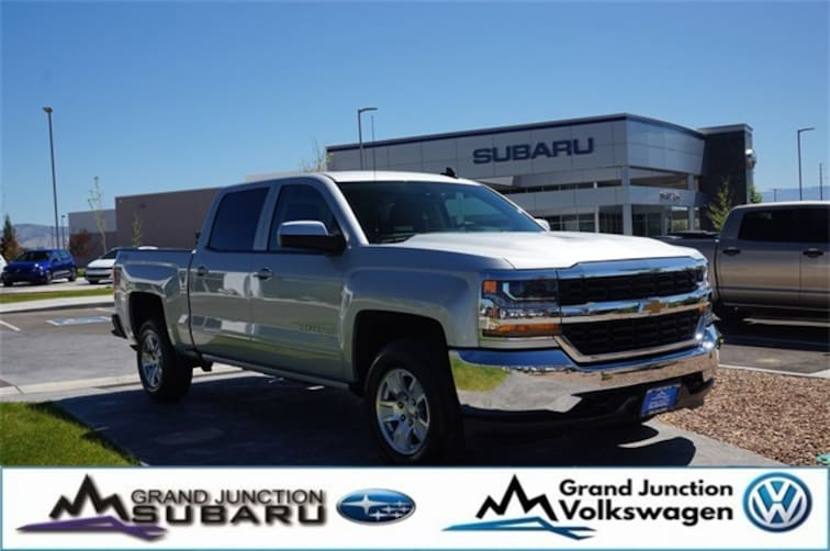 Used 2018 Chevrolet Silverado 1500 LT Truck Crew Cab Grand Junction, CO