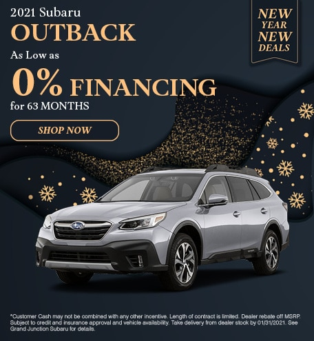 January 2021 Outback Special
