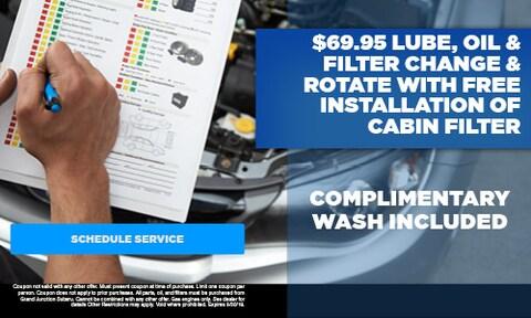 September | Lube, Oil & Filter Change & Rotate