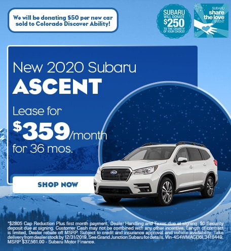 December | 2020 Ascent Lease