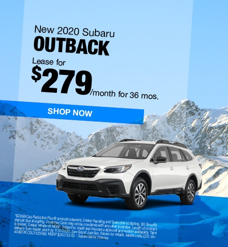 January | 2020 Outback Lease