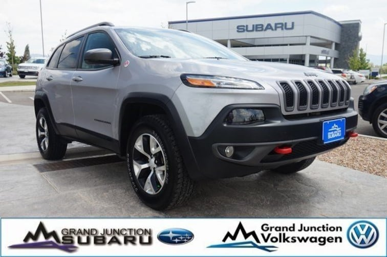Used 2018 Jeep Cherokee Trailhawk 4x4 SUV Grand Junction, CO