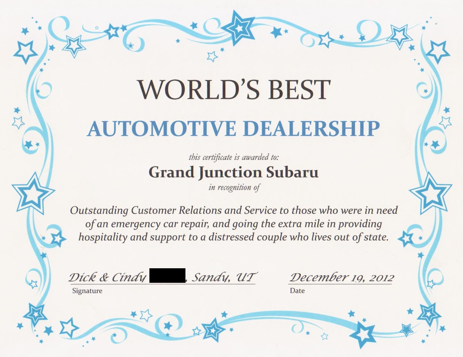 Grand Junction Subaru