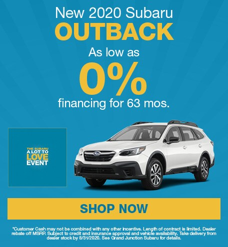 August 2020 Outback Special