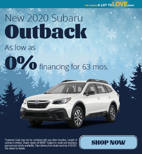 March | 2020 Outback APR