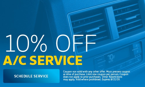 August | 10% Off A/C Service