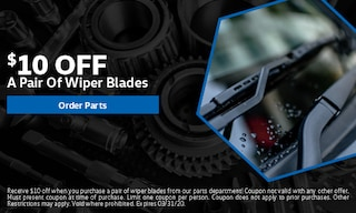 $10 Off A Pair Of Wiper Blades