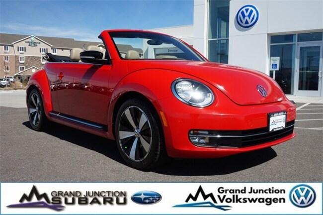 2013 Volkswagen Beetle 2.0 TSi Convertible