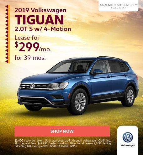 New 2019 Volkswagen Tiguan