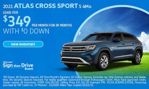 April 2021 Atlas Cross Sport S Special
