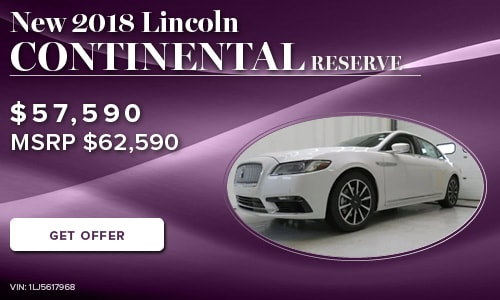 New 2018 Lincoln Continental Reserve