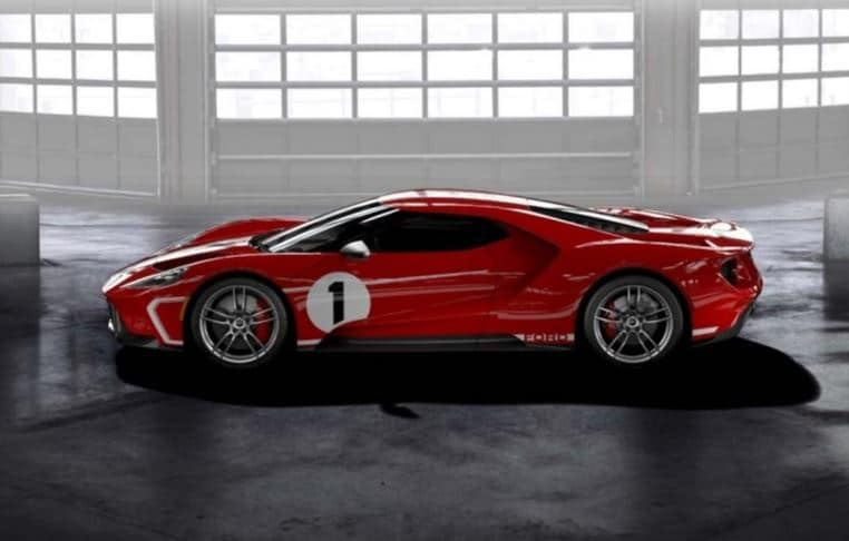New Ford GT '67 Heritage Edition