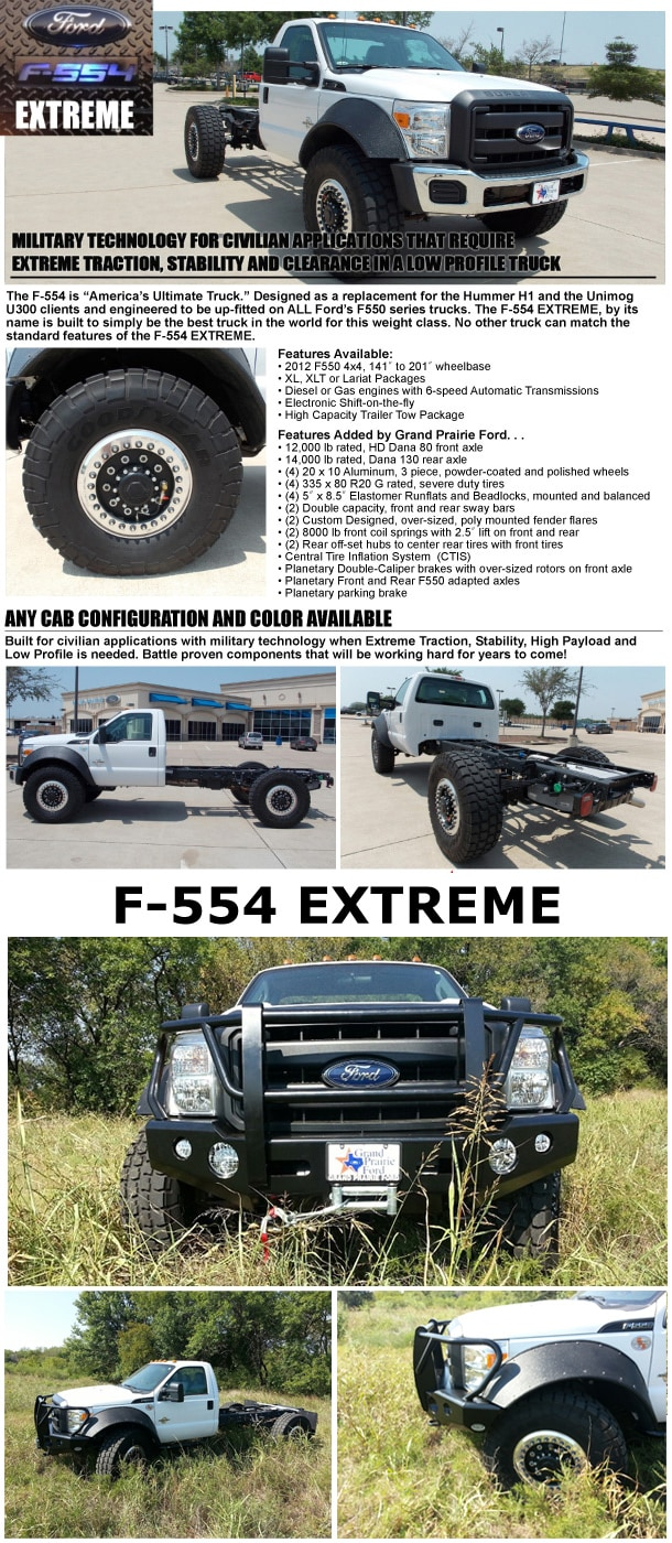 Learn About the F-554 Extreme