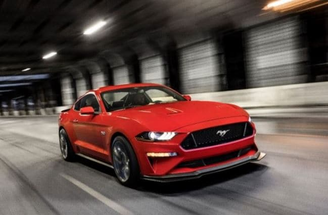 New Ford Mustang Model