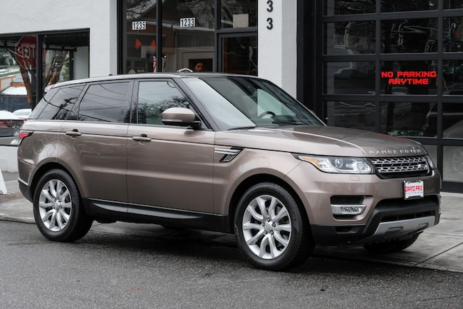 2015 Land Rover Range Rover Sport 3.0L V6 Supercharged SUV