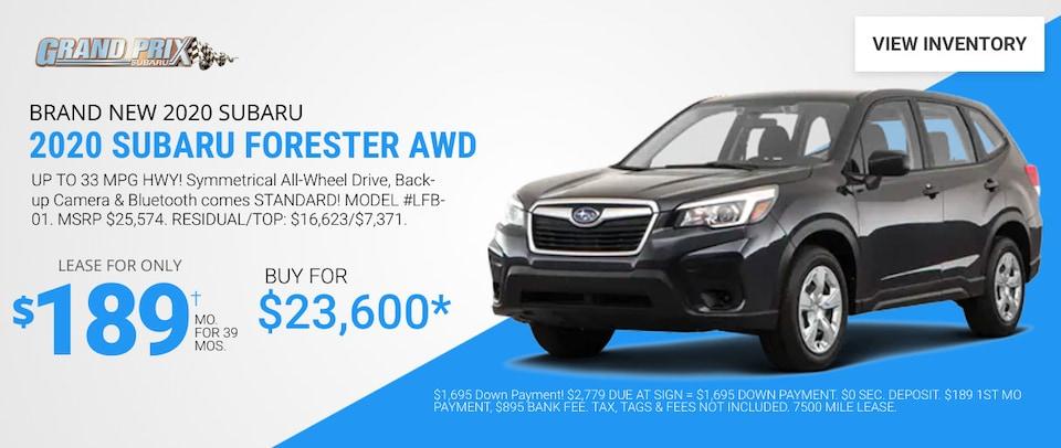 Subaru Forester - June 2020