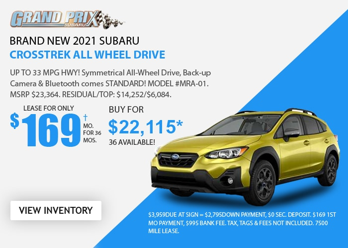 Subaru Crosstrek Deal - January 2021