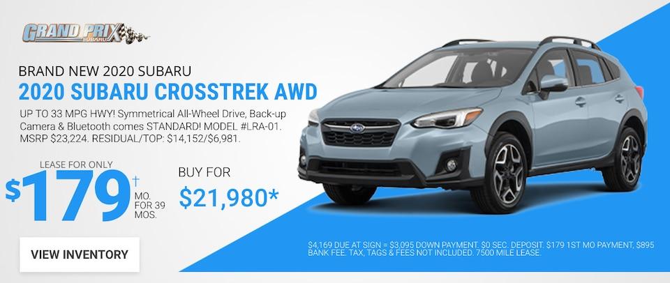 Subaru Crosstrek - June 2020