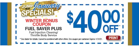 Winter Bonus Coupon