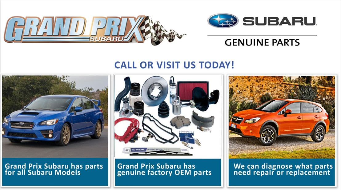 Subaru Parts Long Island NY | Grand Prix Subaru Serving Huntington ...