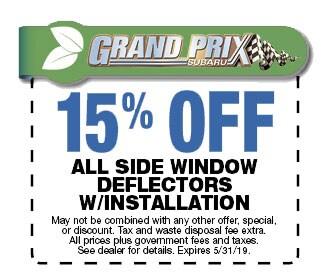 Save on Side Window Wind Deflectors