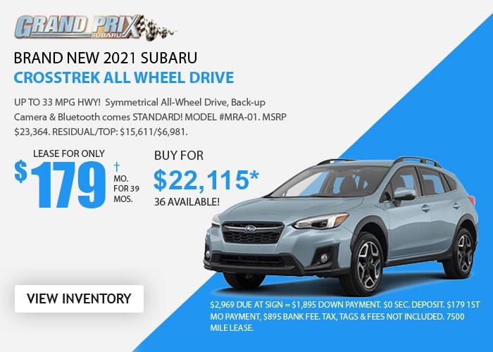 Subaru Crosstrek Deal - October 2020