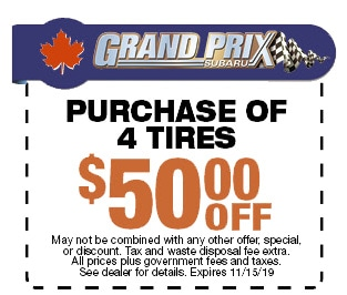 Purchase 4 Tires and Save