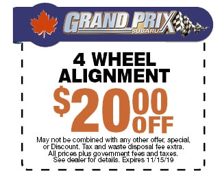 Get $20 Off Your Wheel Alignment