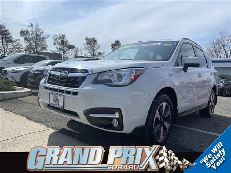 Certified Pre-Owned 2017 Subaru Forester Limited 2.5i Limited CVT in Long Island
