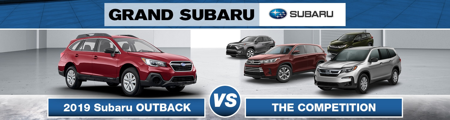 2019 Subaru Outback vs. the Competition