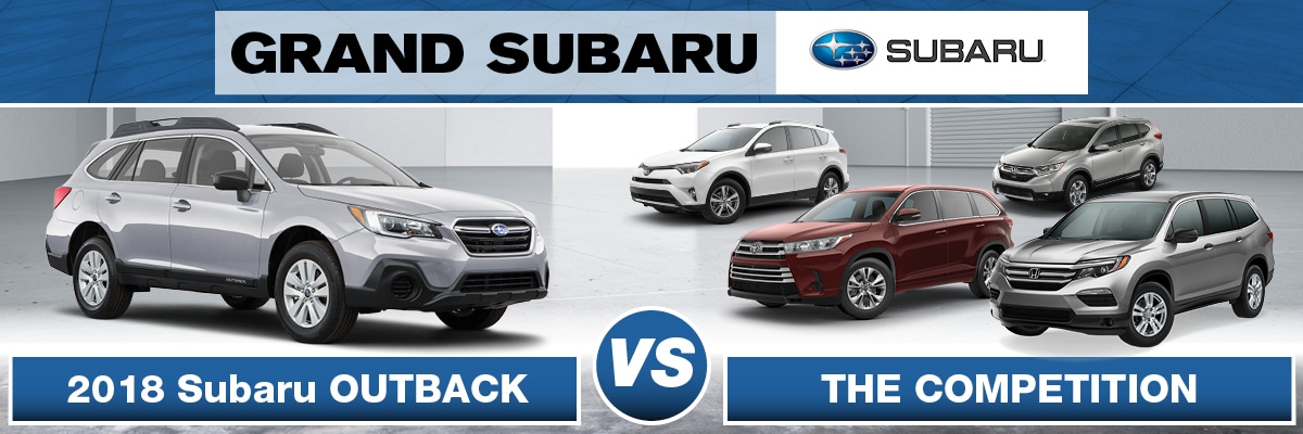 Subaru Outback Vs the Competition