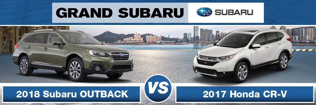 Subaru Outback Vs Honda CR-V