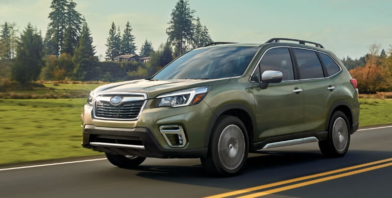 New 2019 Subaru Forester Driving