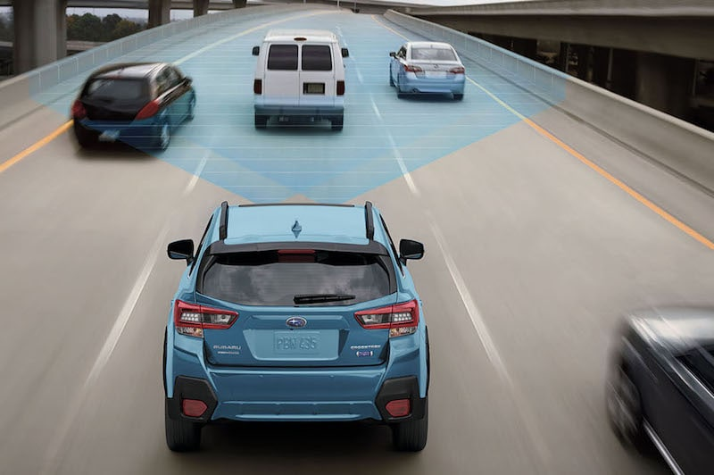 Subaru Crossteck EyeSight® Driver Assist Technology