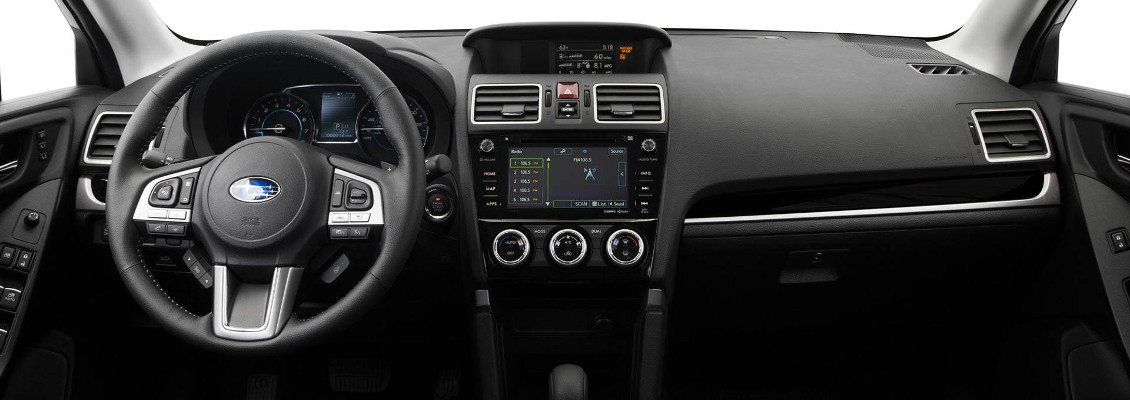 2018 Subaru Forester Dashboard