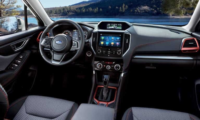 2020 Subaru Forester Interior front seats