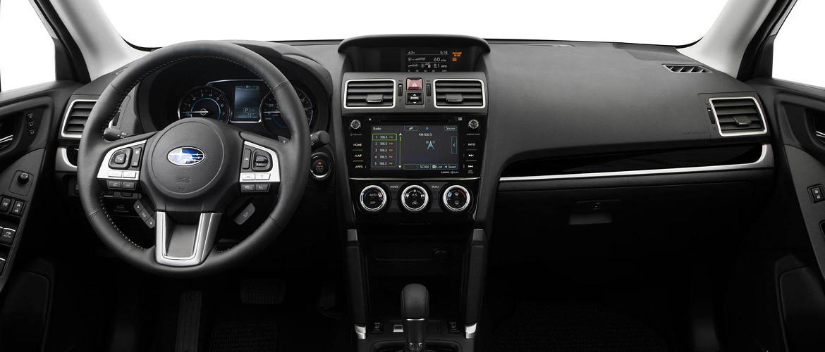 2018 Subaru Forester Interior Dashboard