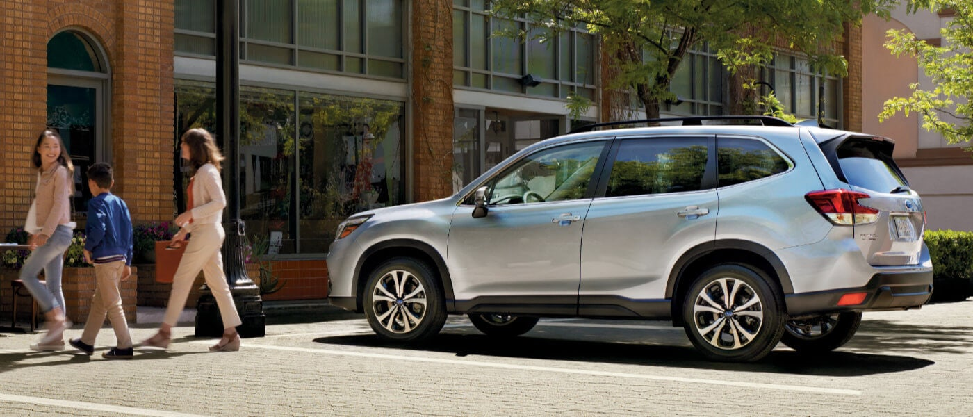2020 Subaru Forester parked in a street