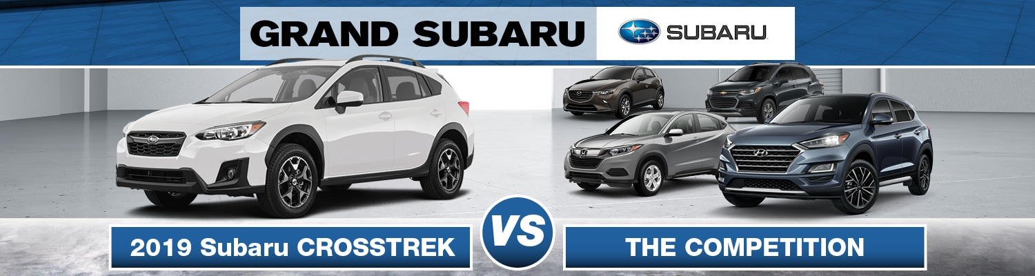 Subaru Crosstrek Vs. The Competition