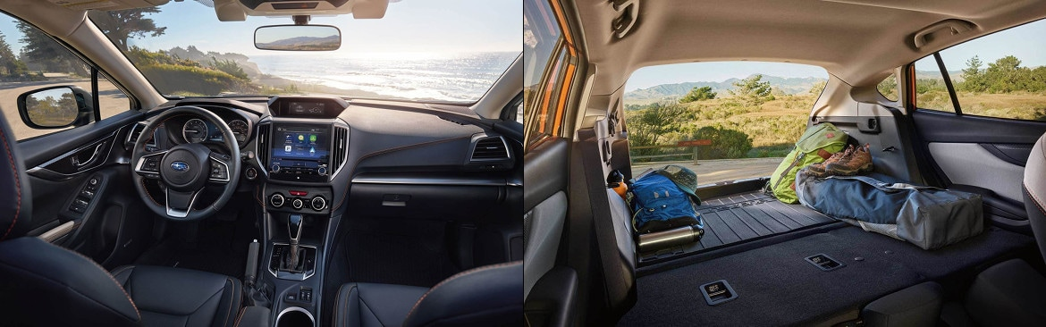 2018 Subaru Crosstrek Interior Dashboard and Cargo Area