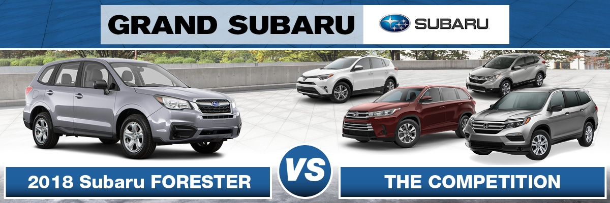Subaru Forester Vs the Competition
